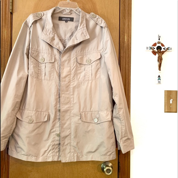 Kenneth Cole Reaction Jackets & Blazers - Kenneth Cole Reaction Womens XL Short Trench Coat